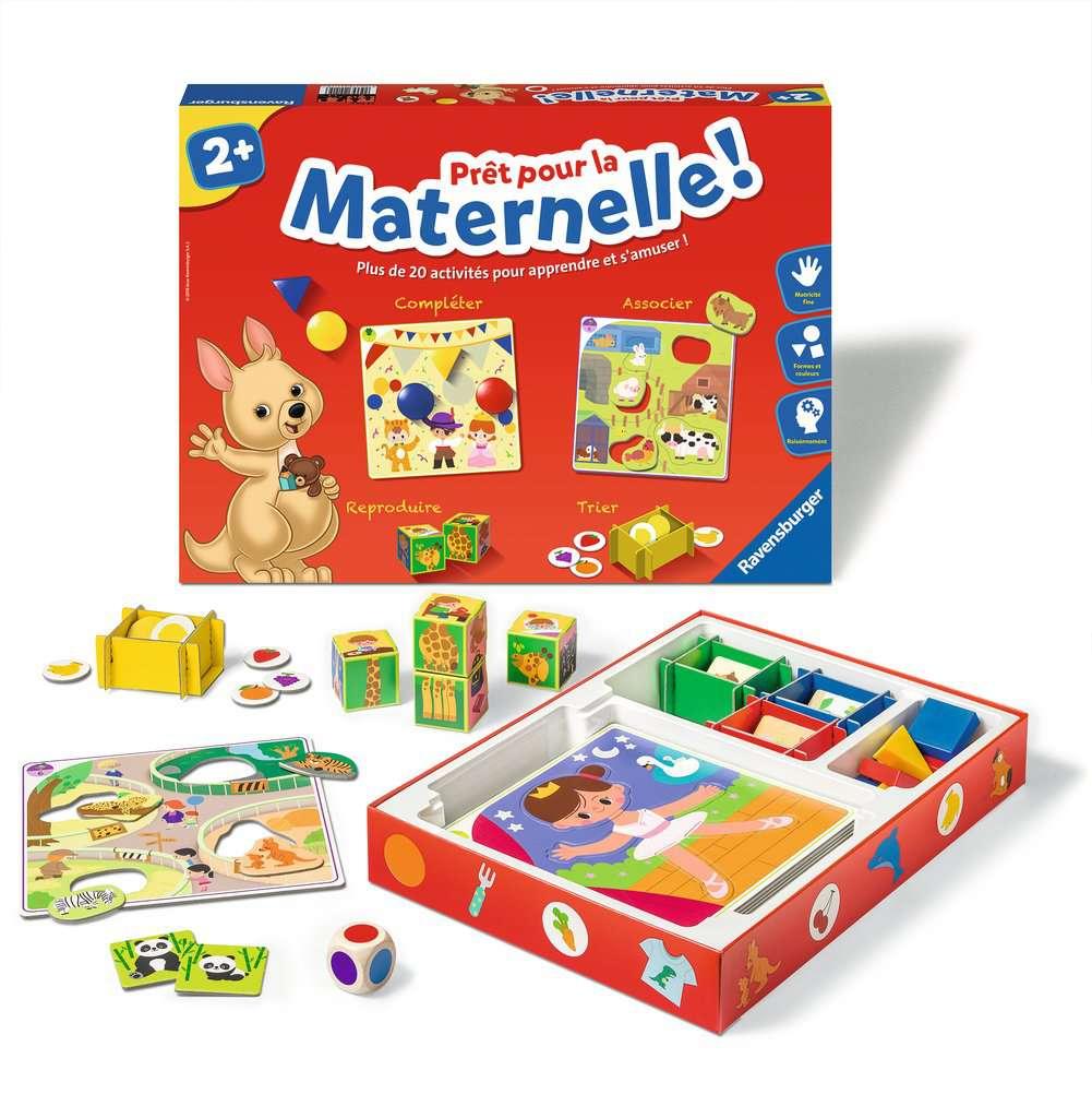 Prêt Pour La Maternelle ! serapportantà Les Jeux Educatif
