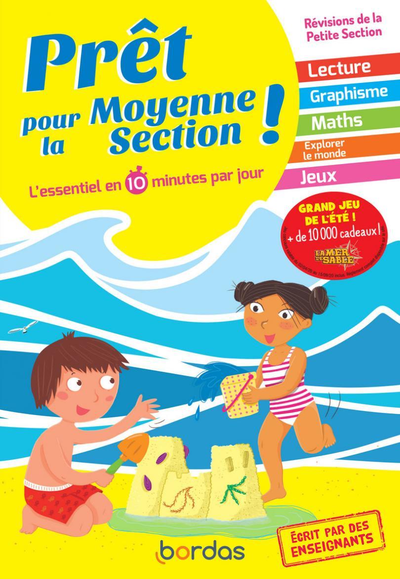 Prêt Pour La Ms ? Cahier De Vacances, Révisions De La Petite dedans Cahier De Vacances Moyenne Section A Imprimer