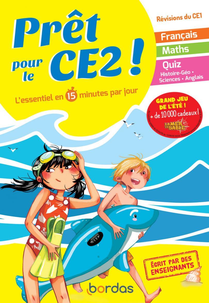 Prêt Pour Le Ce2 - Cahier De Vacances, Révisions Du Ce1 tout Cahier De Vacances Gratuit A Imprimer 6Eme 5Eme