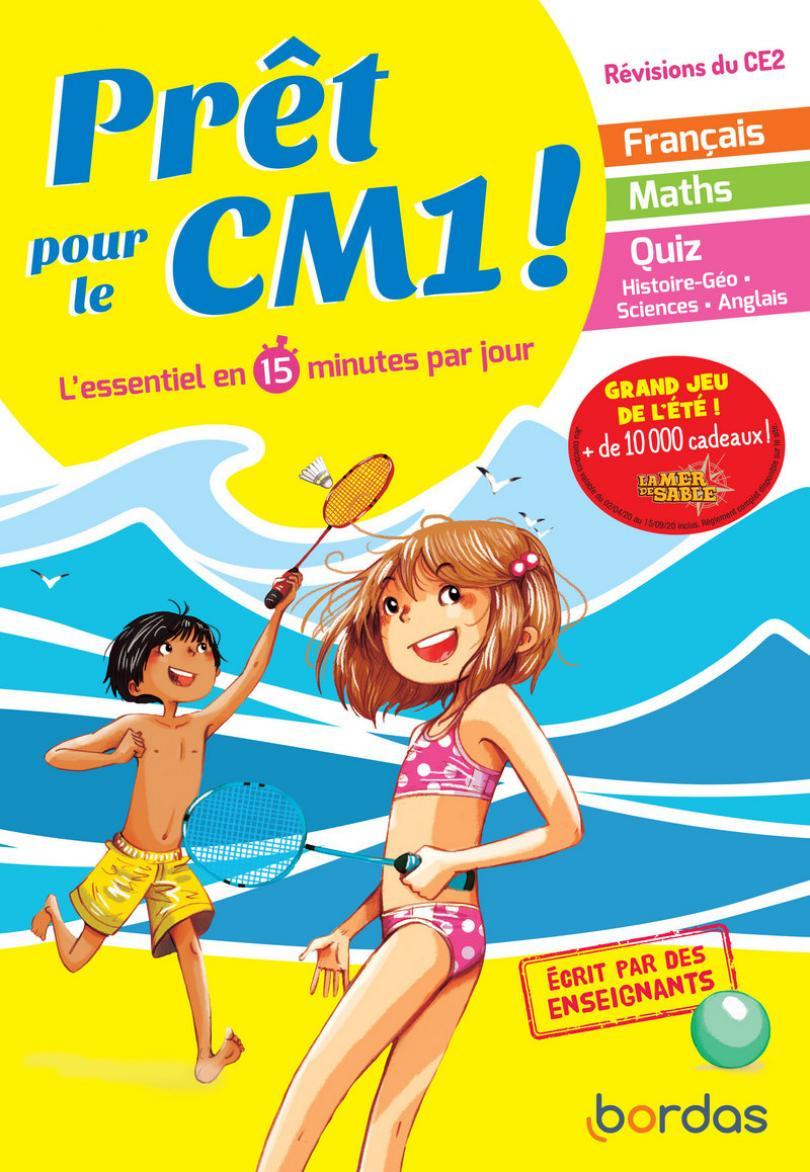 Prêt Pour Le Cm1 - Cahier De Vacances, Révisions Du Ce2 serapportantà Cahier De Vacances Moyenne Section A Imprimer