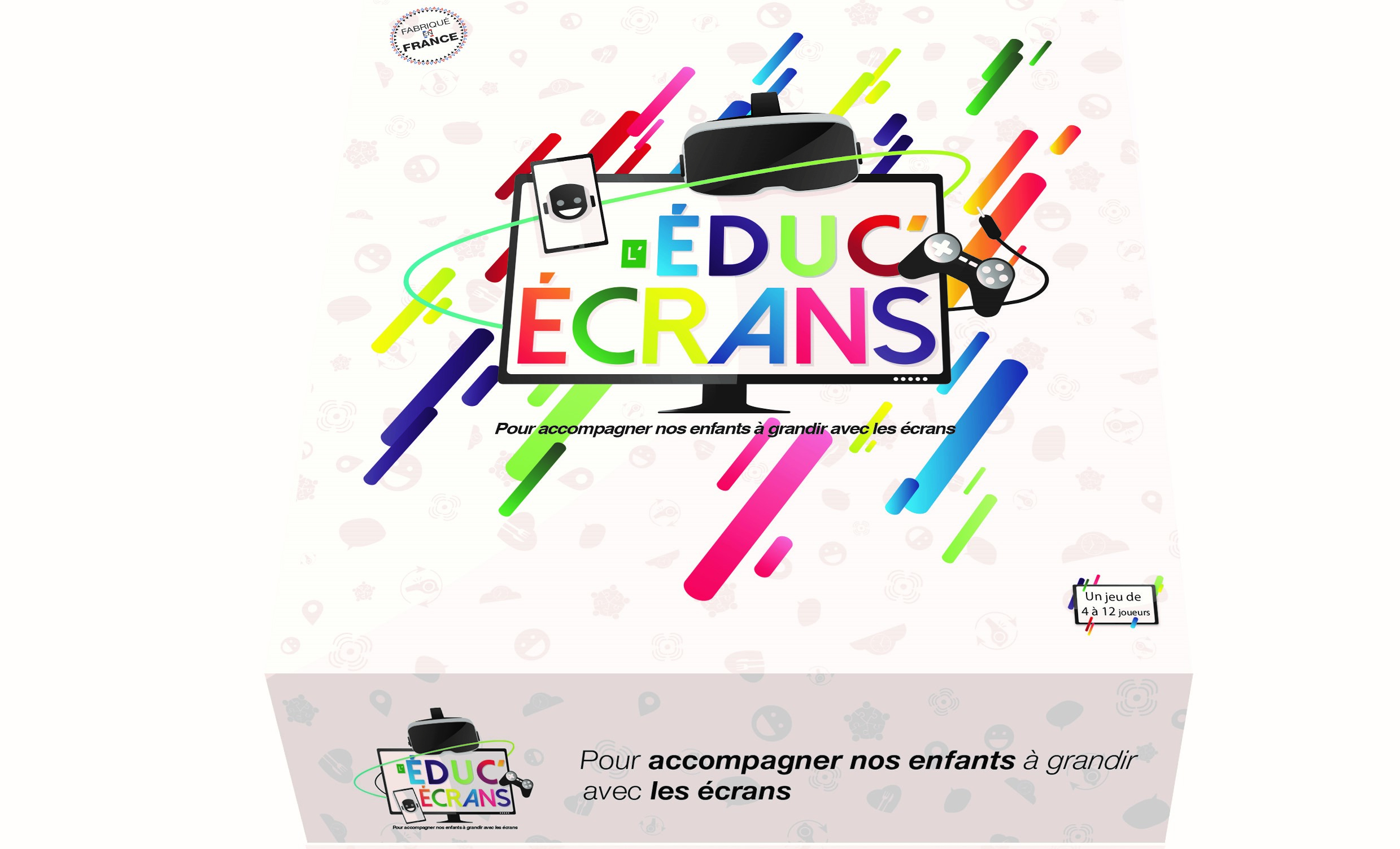 Prévention Des Risques Liés Aux Écrans : L'educ'ecrans avec Jeux Ludique Enfant