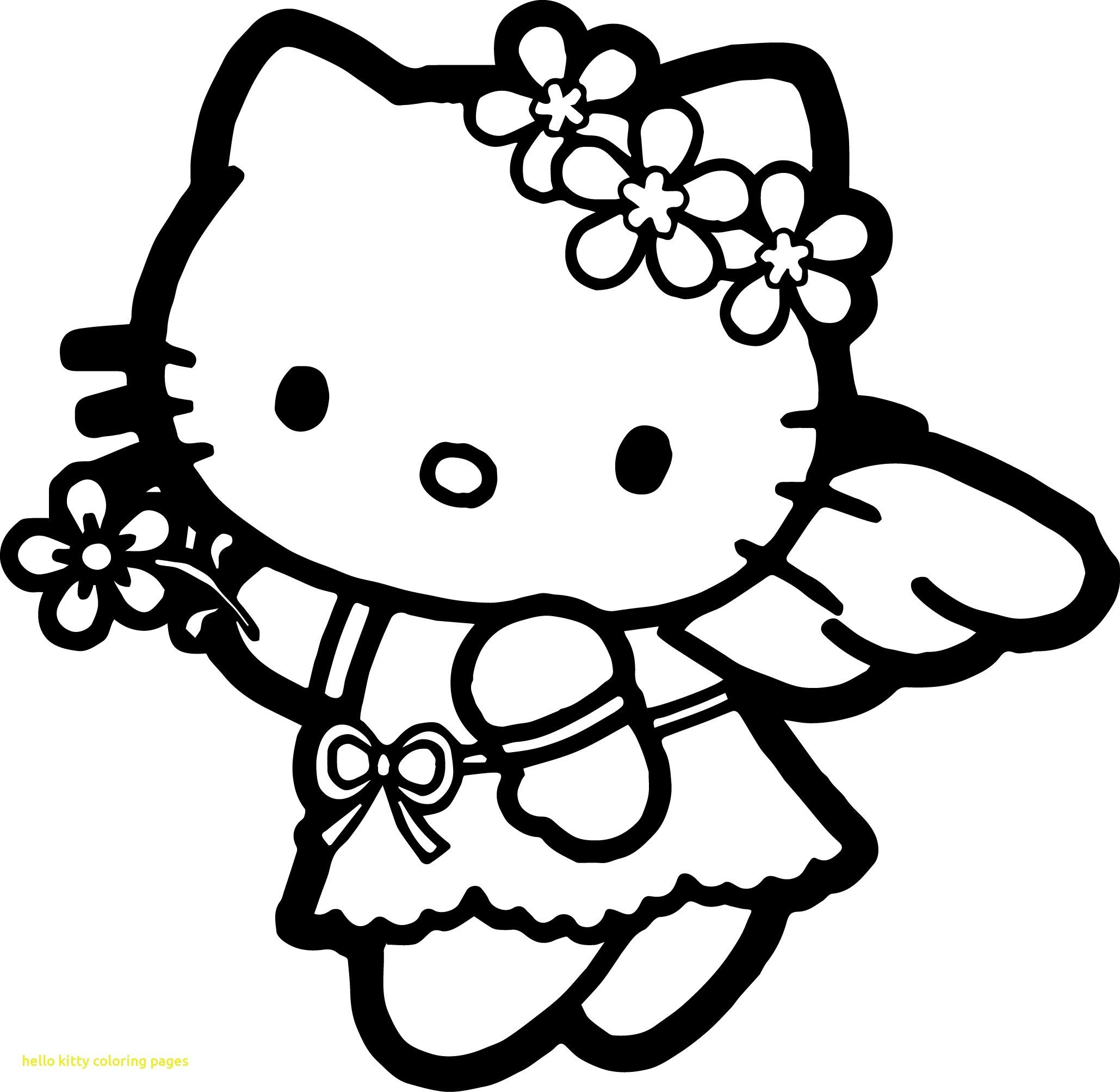 Princess Hello Kitty Coloring Pages encequiconcerne Hello Kitty À Dessiner
