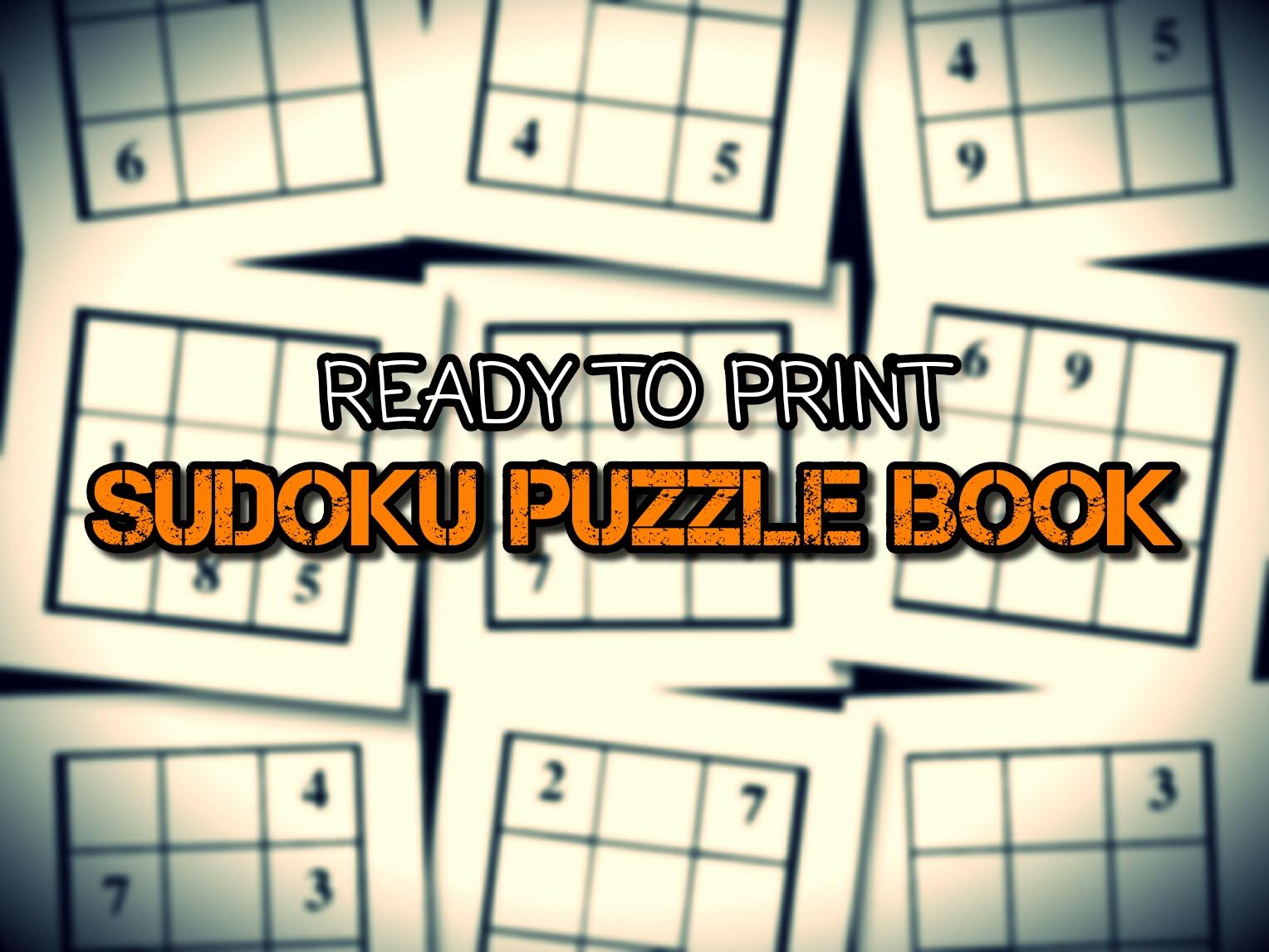 Print Ready Sudoku Puzzle Book Vol 150 avec Sudoku A Imprimer