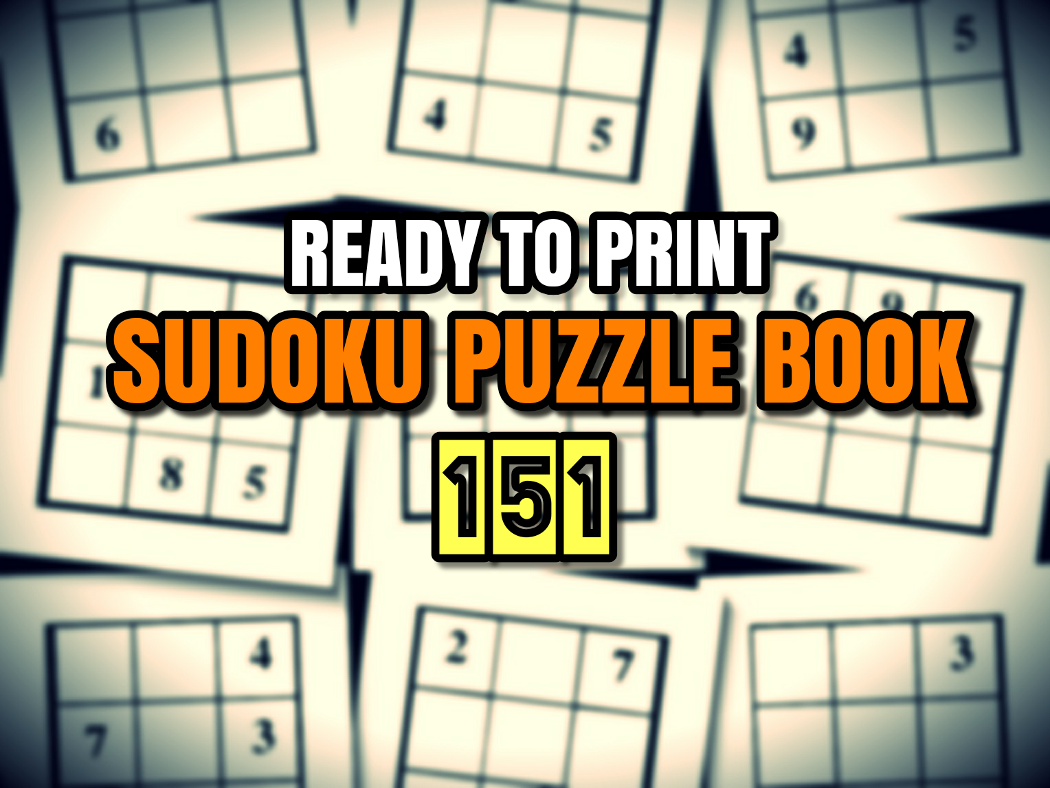 Print Ready Sudoku Puzzle Book Vol 151 avec Sudoku A Imprimer