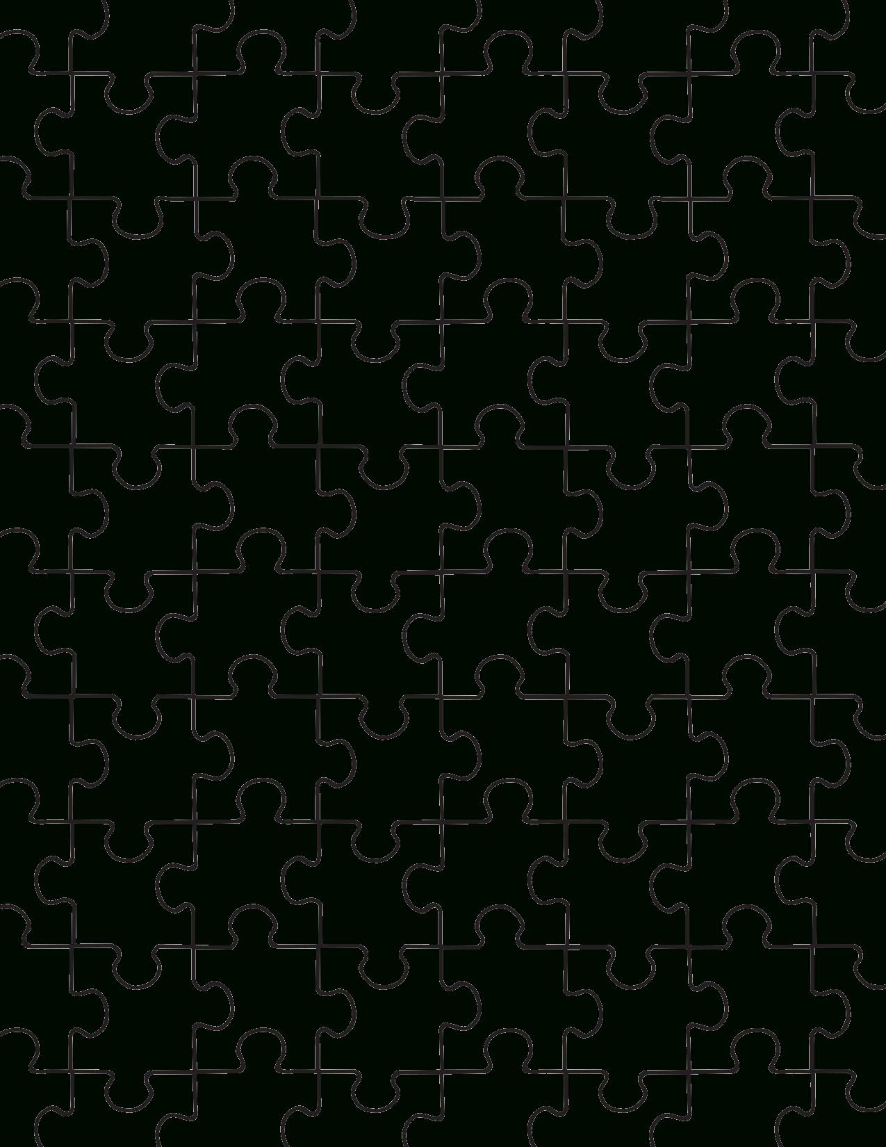 Printable Puzzle Pieces Template | Regalos Fáciles Para concernant Puzzle Gratuit Pour Fille De 3 Ans