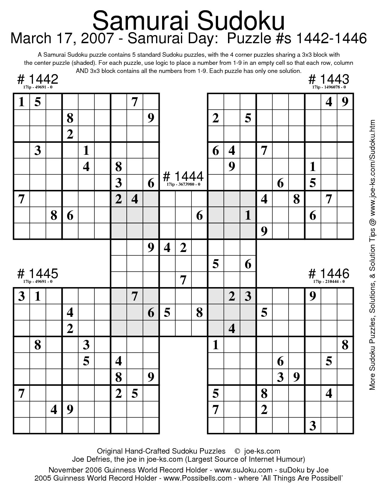 Printable Sudoku Worksheet | Printable Worksheets And à Sudoku A Imprimer