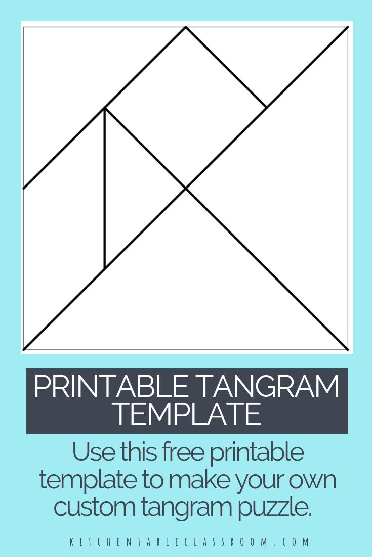 Printable Tangrams - An Easy Diy Tangram Template | Make dedans Tangram Simple