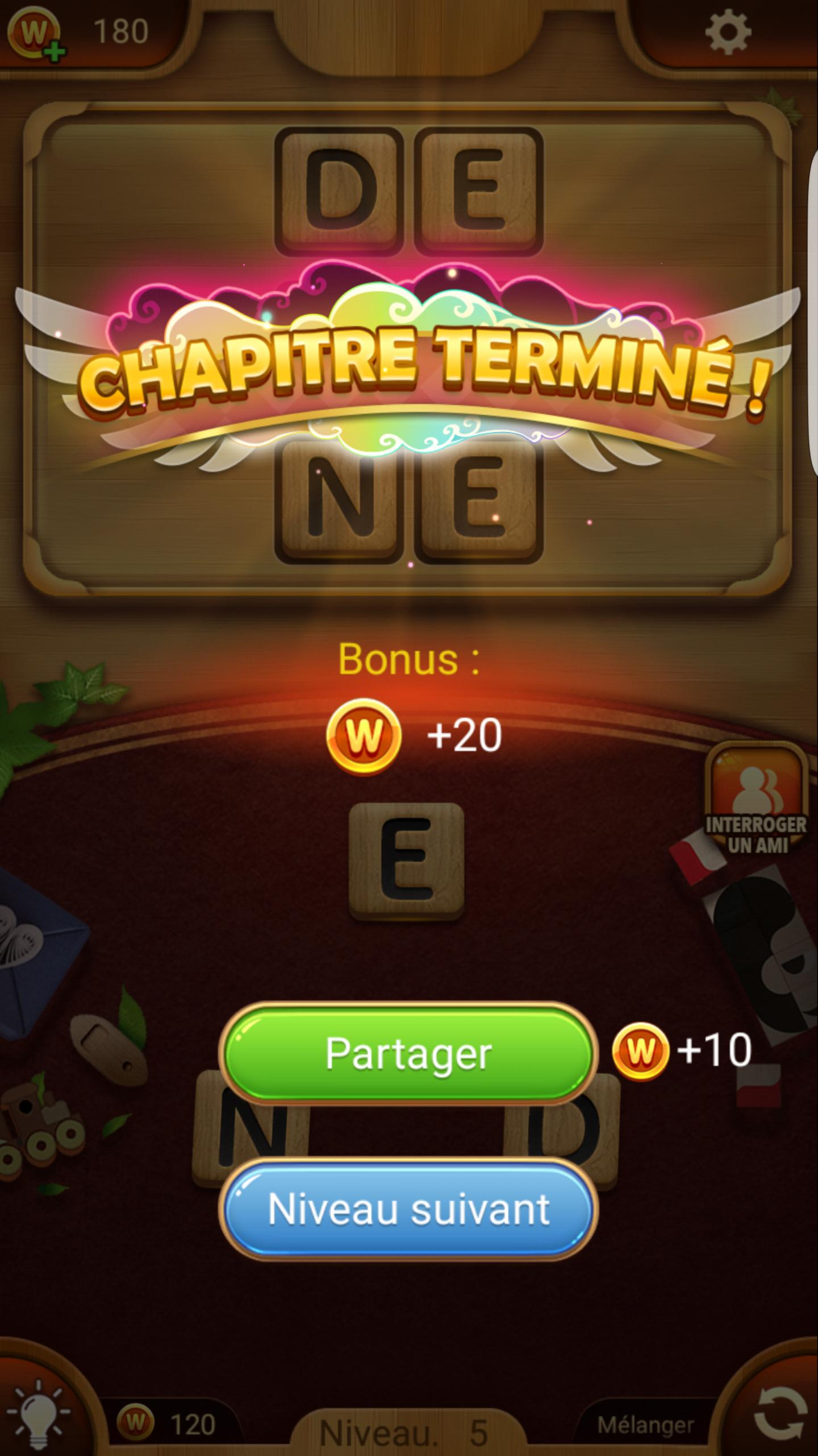 Pro Des Mots Android 17/20 (Test, Photos) pour Jeux Gratuit De Mots