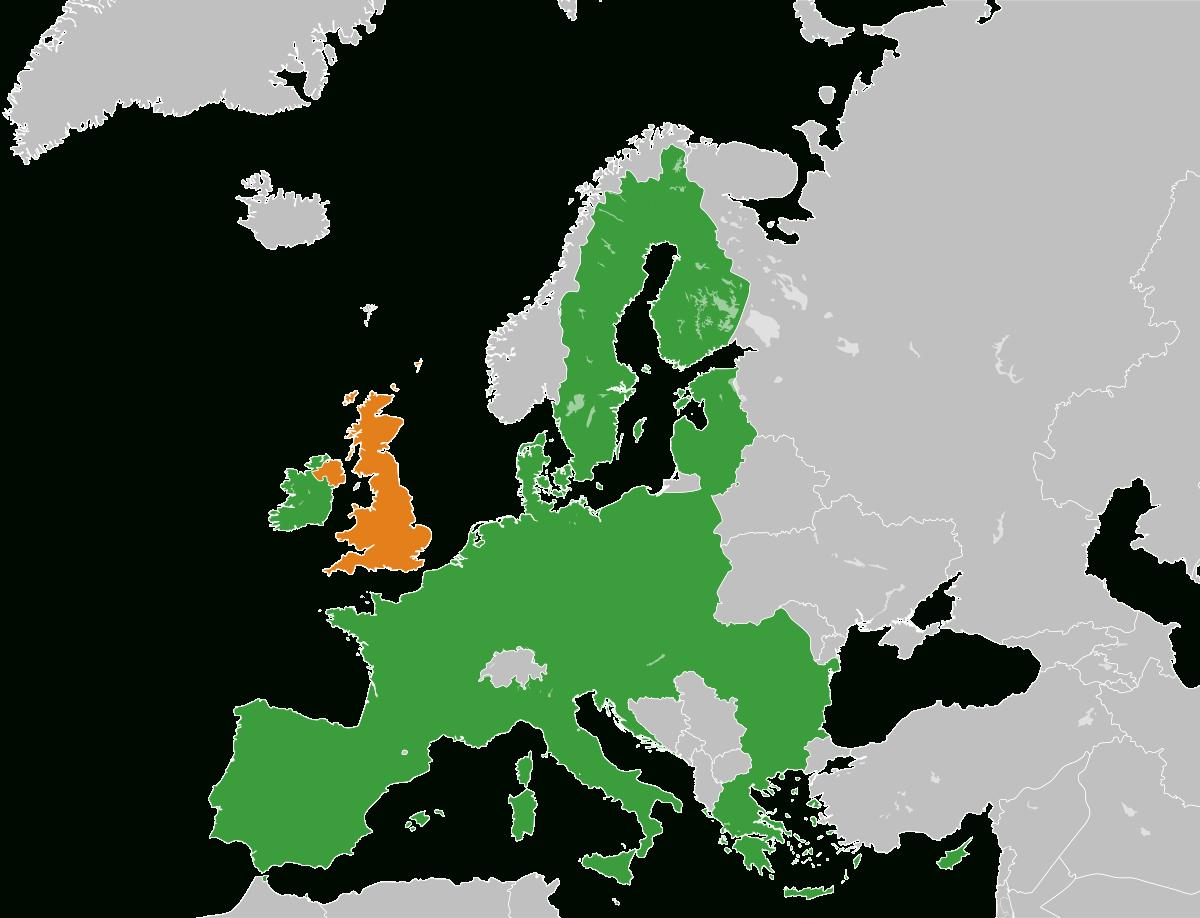 Procédure De Retrait Du Royaume-Uni De L'union Européenne destiné Les Capitales De L Union Européenne
