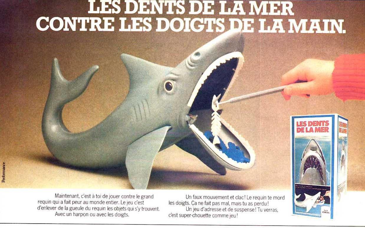 Proders : Le Jeu De Jaws – The Movie Freak dedans Jeu De Societe Requin