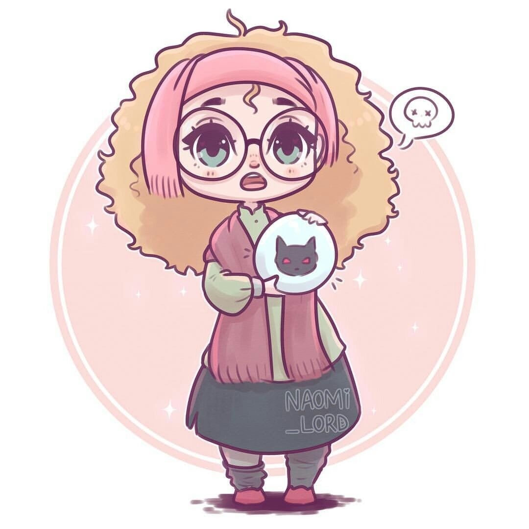 Professor Trelawney By Naomi Lord | Harry Potter intérieur Dessin D Harry Potter