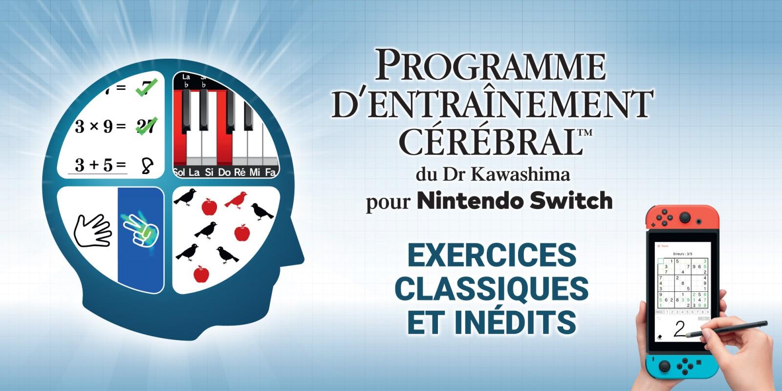Programme D'entraînement Cérébral Du Dr Kawashima Pour serapportantà Jeux Memoire Gratuit