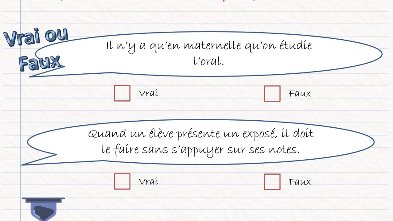 Programmes 2015 - Français - Quizz avec Quizz Pour Maternelle