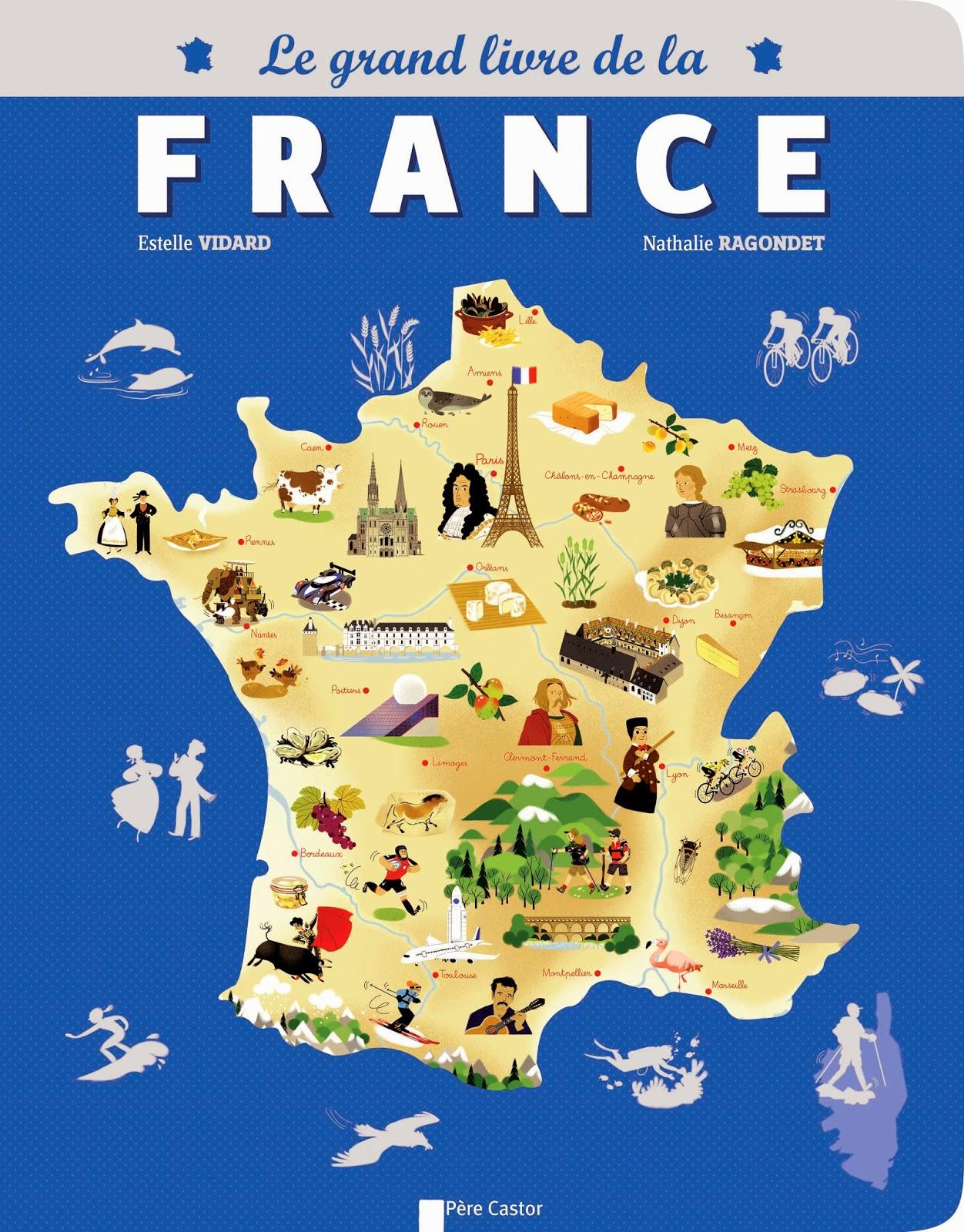 Projet La France (Deuxième Partie) concernant Carte De France Pour Les Enfants