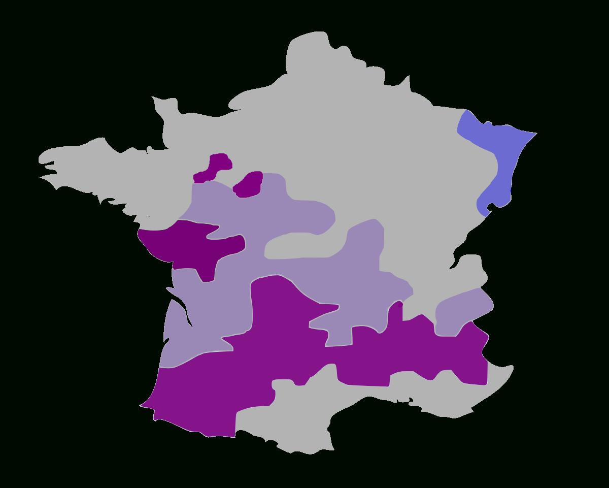 Protestantisme En France — Wikipédia dedans Nombre De Régions En France 2017