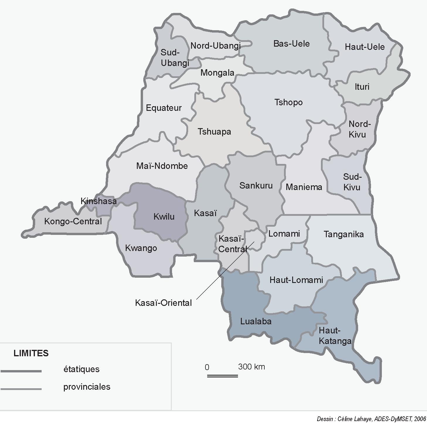 Provinces Of The Democratic Republic Of The Congo - Wikipedia serapportantà Combien De Region En France 2017