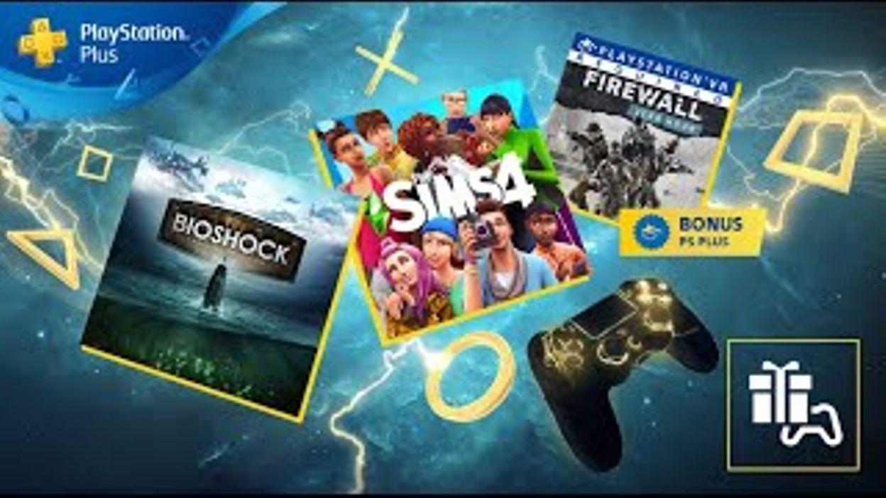 Ps Plus | Février 2020 | Bioshock: The Collection, Les Sims 4 Et Firewall  Zero Hour | Ps4 & Ps Vr concernant Jeux Gratuit Puissance 4