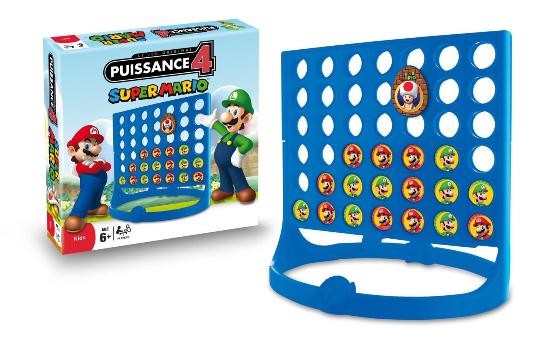 Puissance 4 Édition Spéciale Collector Super Mario : Jeu dedans Jeu De Société Puissance 4