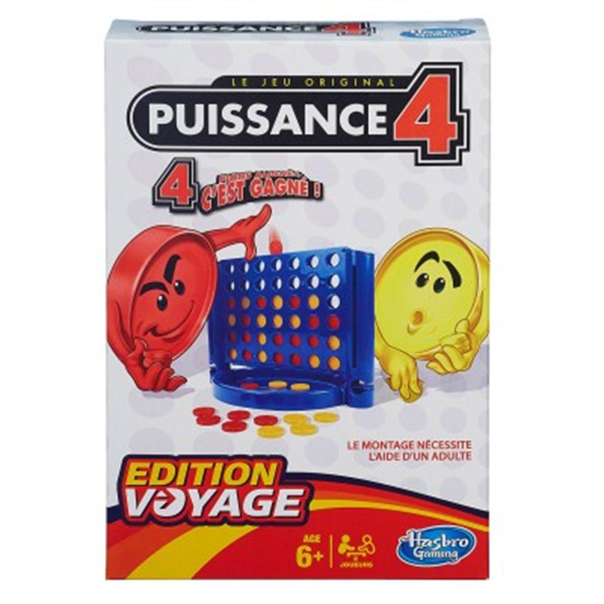 Puissance 4 Edition Voyage - Jeux De Société Et Puzzles - La serapportantà Jeu De Société Puissance 4