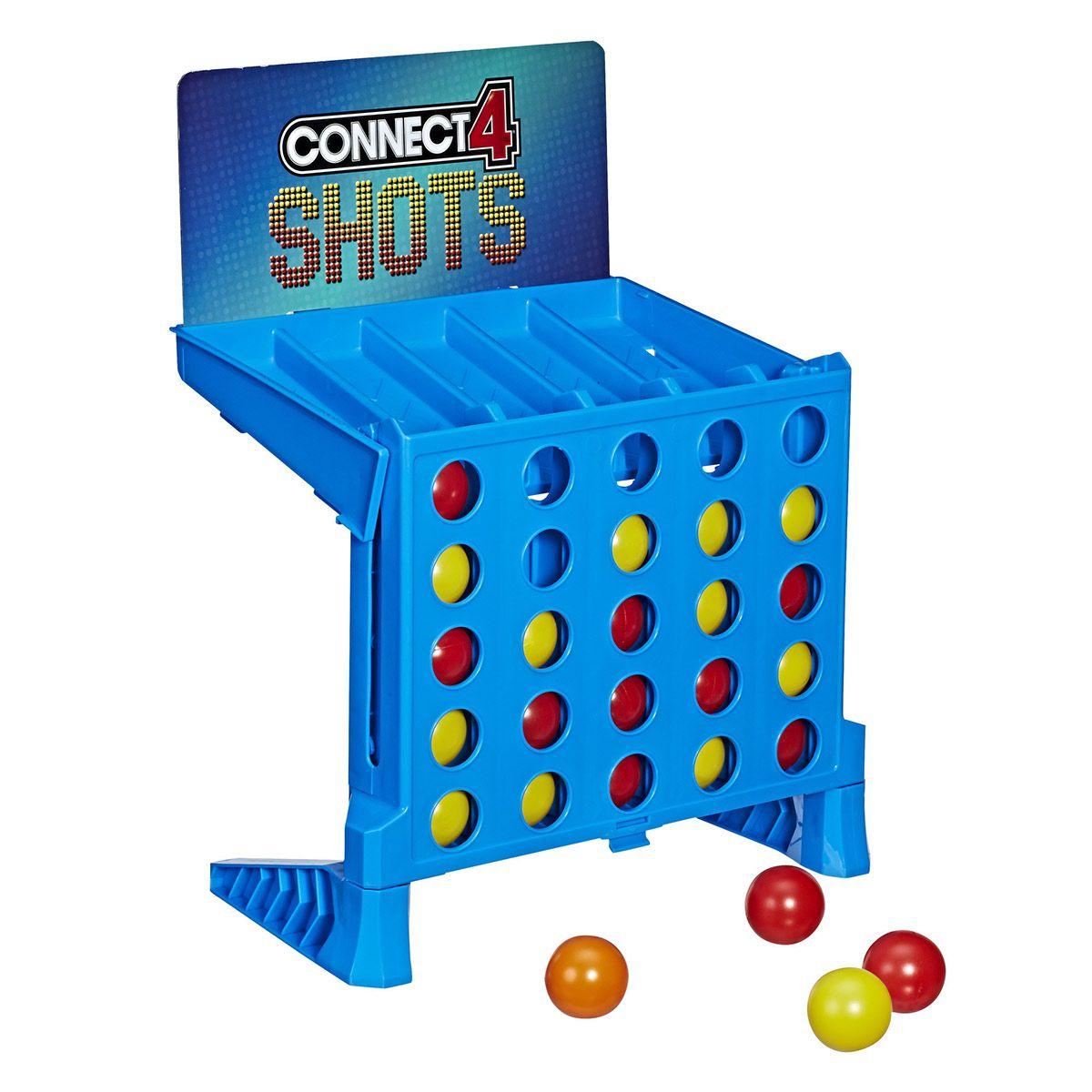 Puissance 4 Shots - Jeux De Société Et Puzzles - La Grande Récré pour Jeux Du Puissance 4