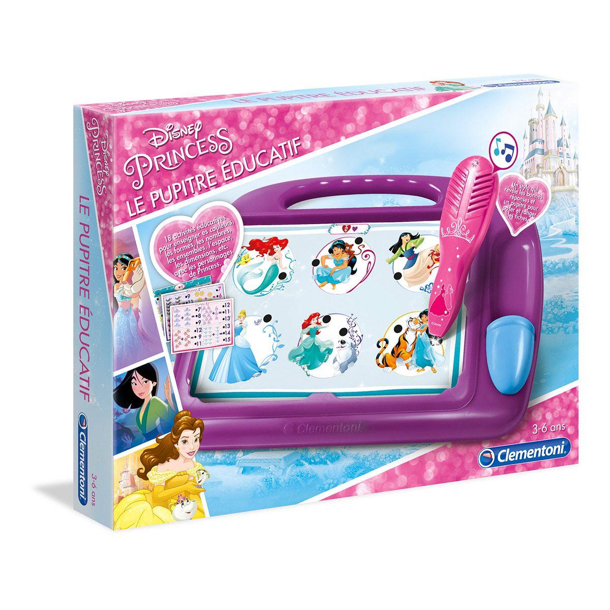 Pupitre Éducatif Disney Princesses - Jeux Éducatifs - La avec Jeux Educatif 3 Ans