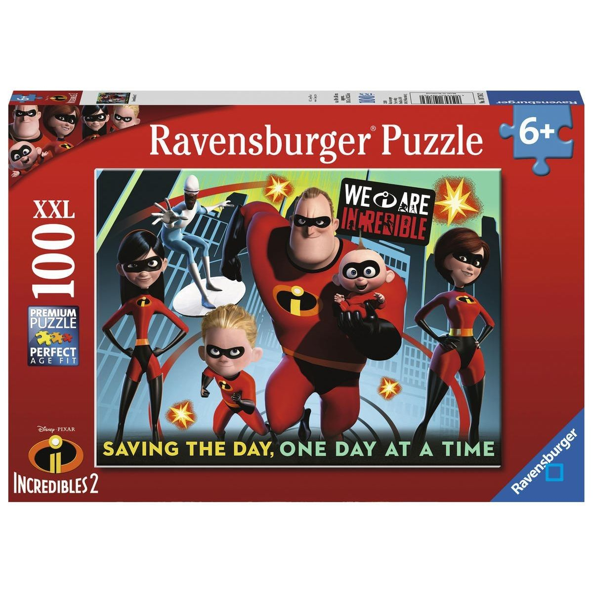 Puzzle 100 P Xxl - Indestructibles 2 - Rav4005556107162 tout Puzzle En Ligne Enfant