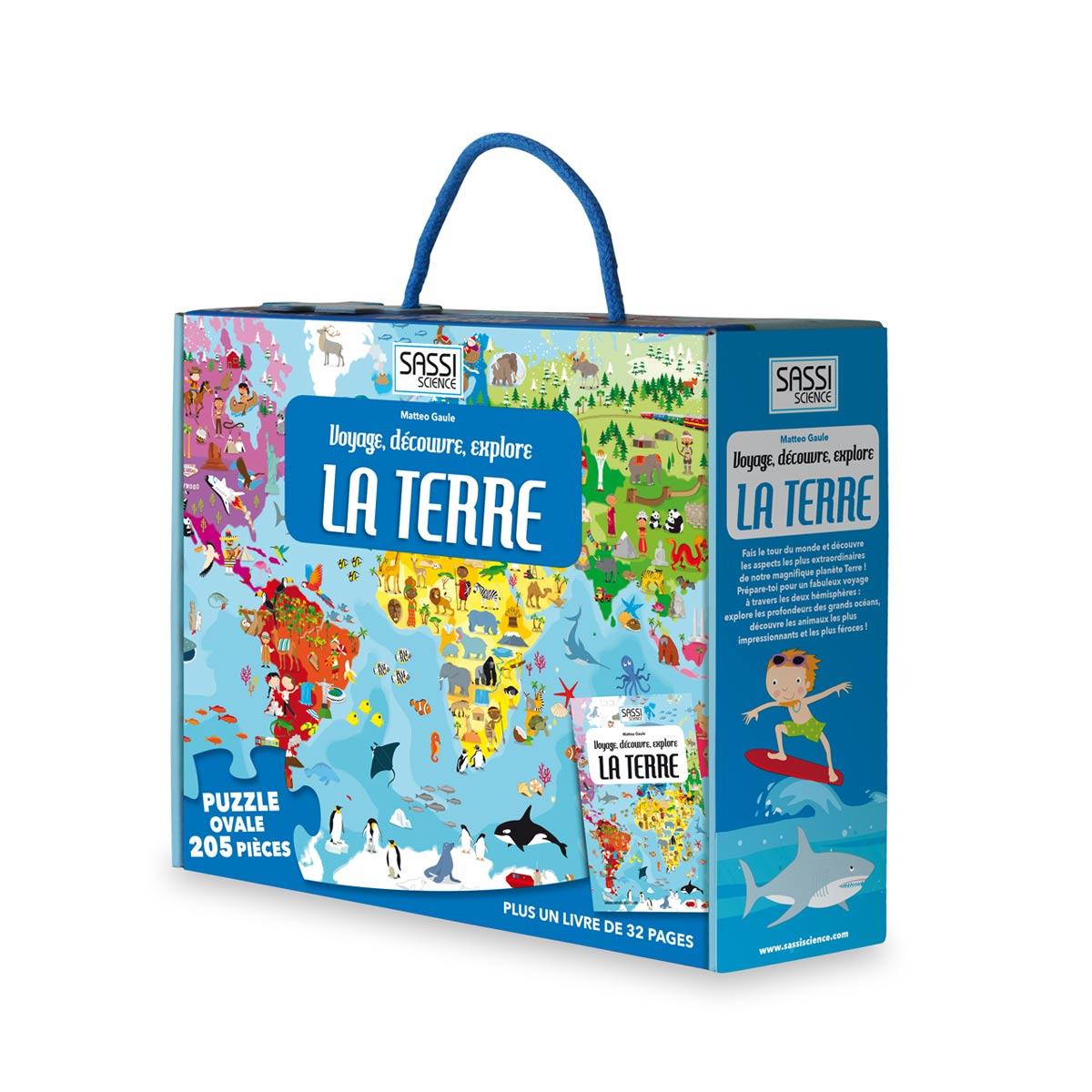 Puzzle Découverte Du Monde Et Son Livret encequiconcerne Puzzle Enfant En Ligne