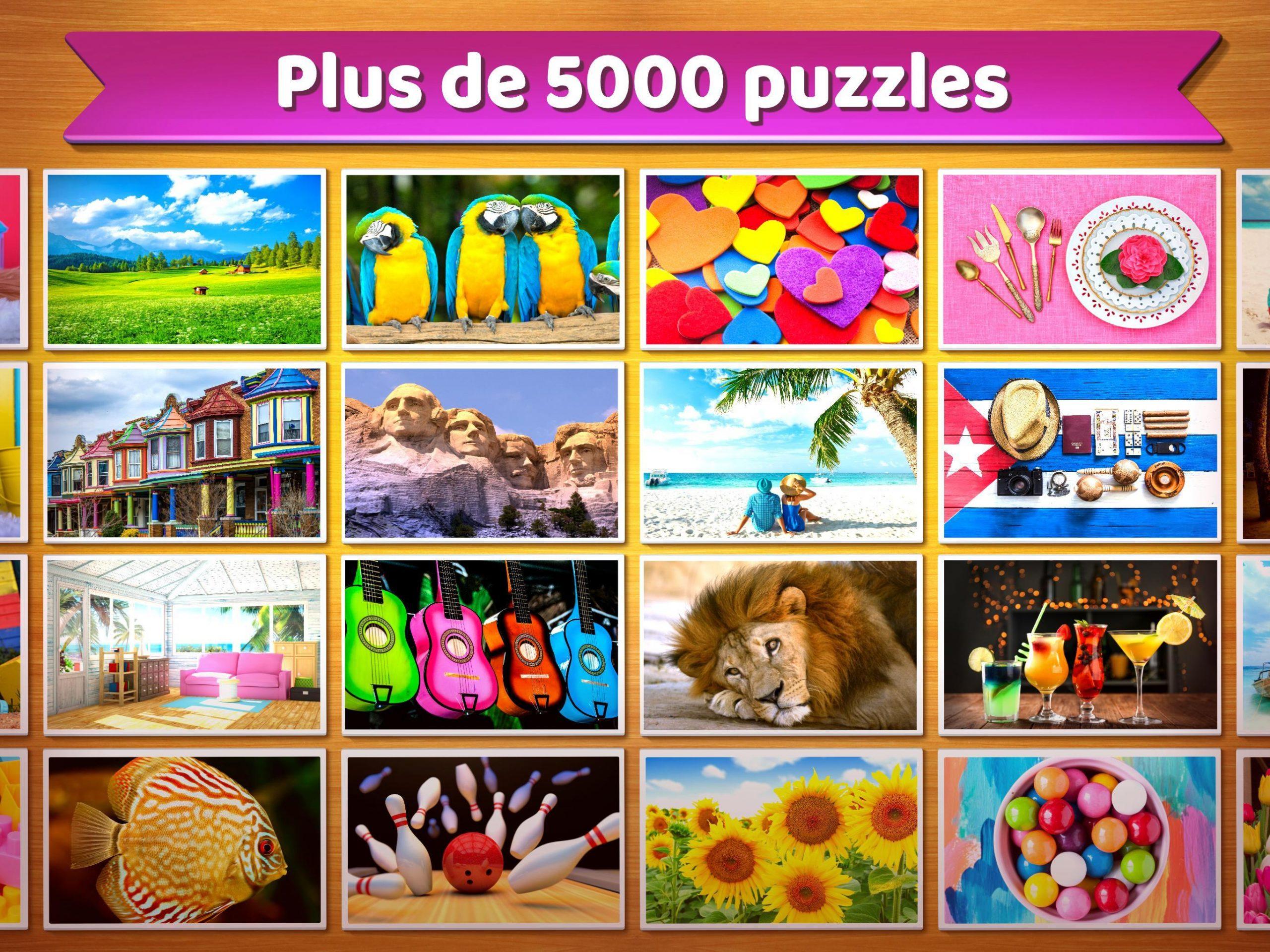 Puzzle 🧩 - Jeux De Puzzle Gratuit Pour Android encequiconcerne Jouer Puzzle Gratuit