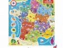 Puzzle France Magnétique encequiconcerne Jeux Educatif 7 Ans