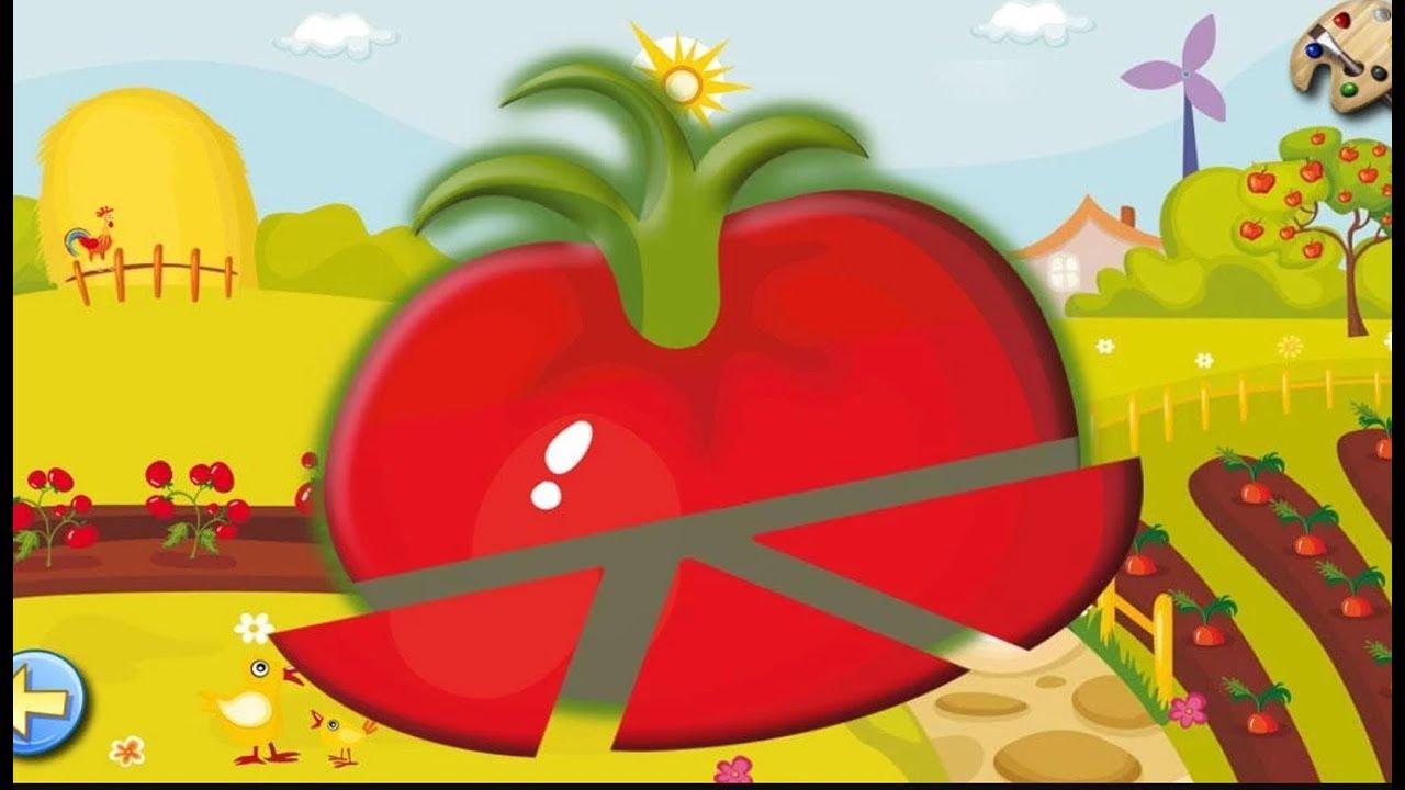 Puzzle Fruits - Jeux Éducatif Pour Enfants Et Bébés - App Ios & Android #1 dedans Puzzle Gratuit Pour Fille De 3 Ans