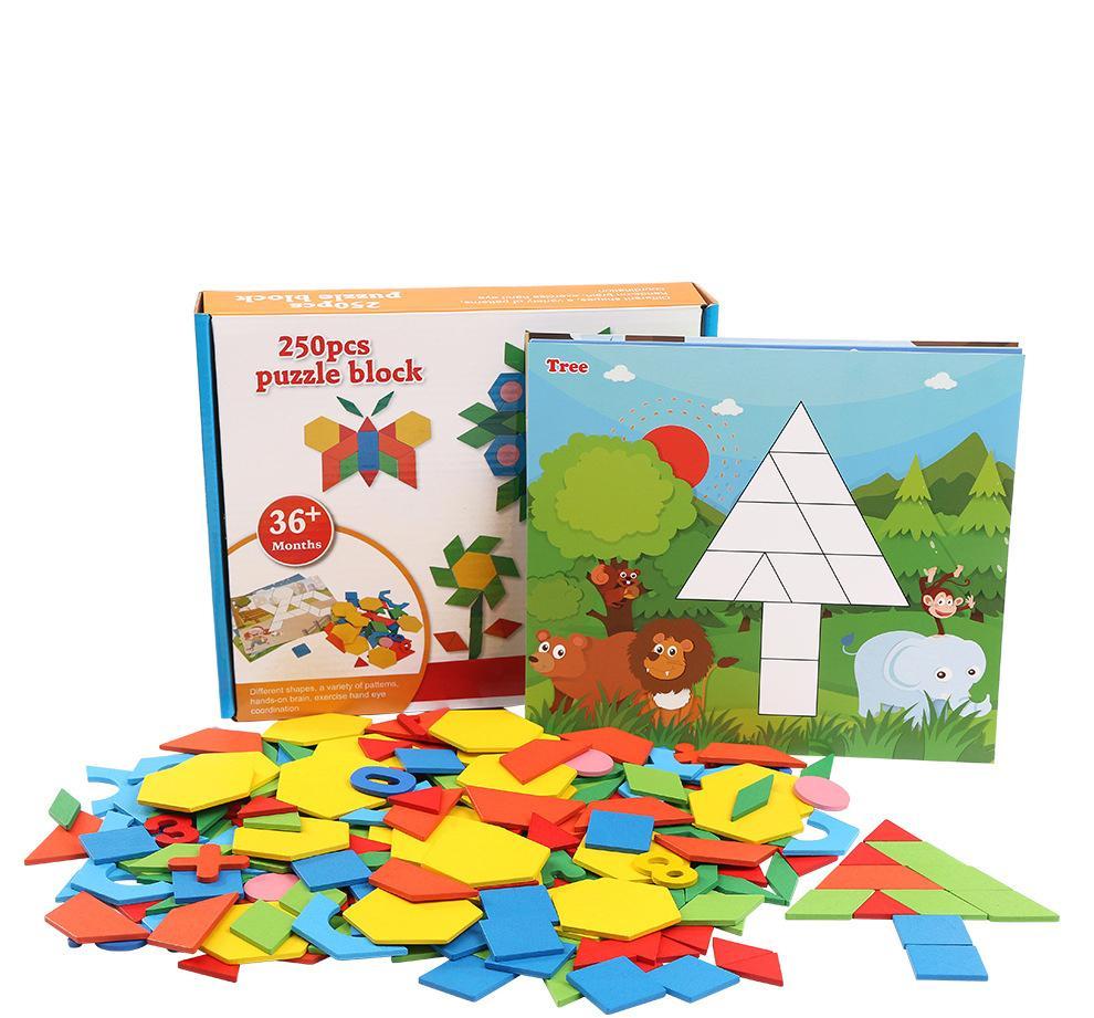 Puzzle Géométrique Pour Enfants, Puzzle, Jouets En Bois Des Écoles  Primaires, Garçons Et Filles, Éducation Préscolaire, Casse-Tête De 3-4-5-6  Ans serapportantà Puzzle Enfant En Ligne