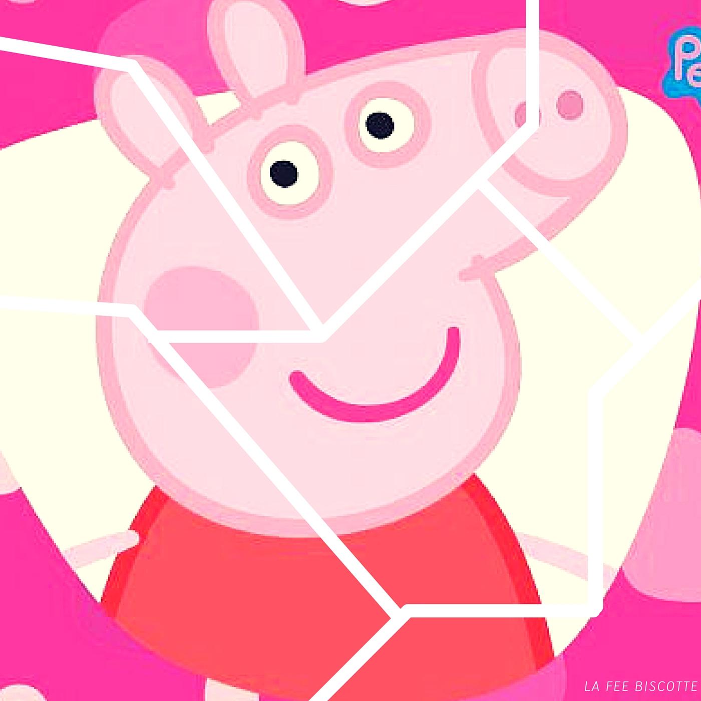 Puzzle Gratuit Peppa Pig À Imprimer Archives - La Fée Biscotte pour Puzzle Gratuit Enfant