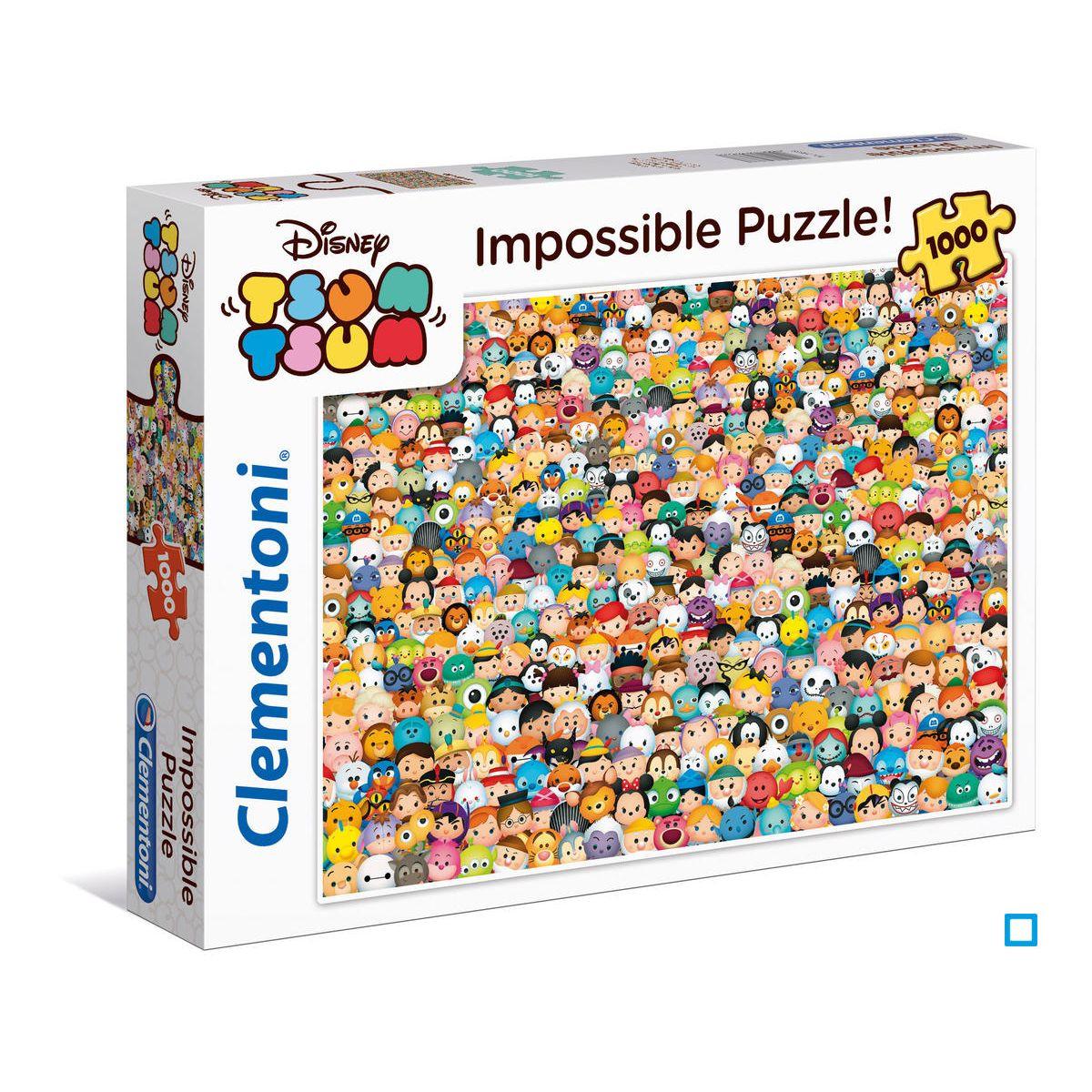 Puzzle Impossible 1000 Pièces - Tsum Tsum - Cle39363 encequiconcerne Puzzle Enfant En Ligne