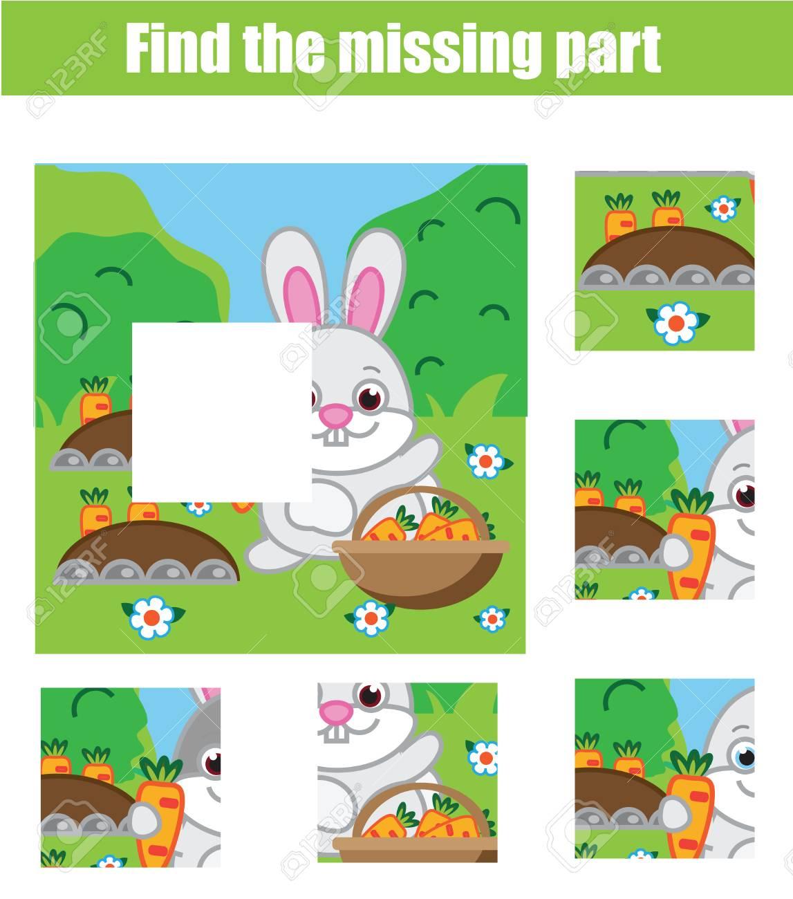 Puzzle Pour Les Tout-Petits. Matching Jeu Éducatif Pour Enfants. Faites  Correspondre Les Pièces Et Complétez L'image. Activité Pour Les Enfants  D'âge avec Jeux Pour Tout Petit