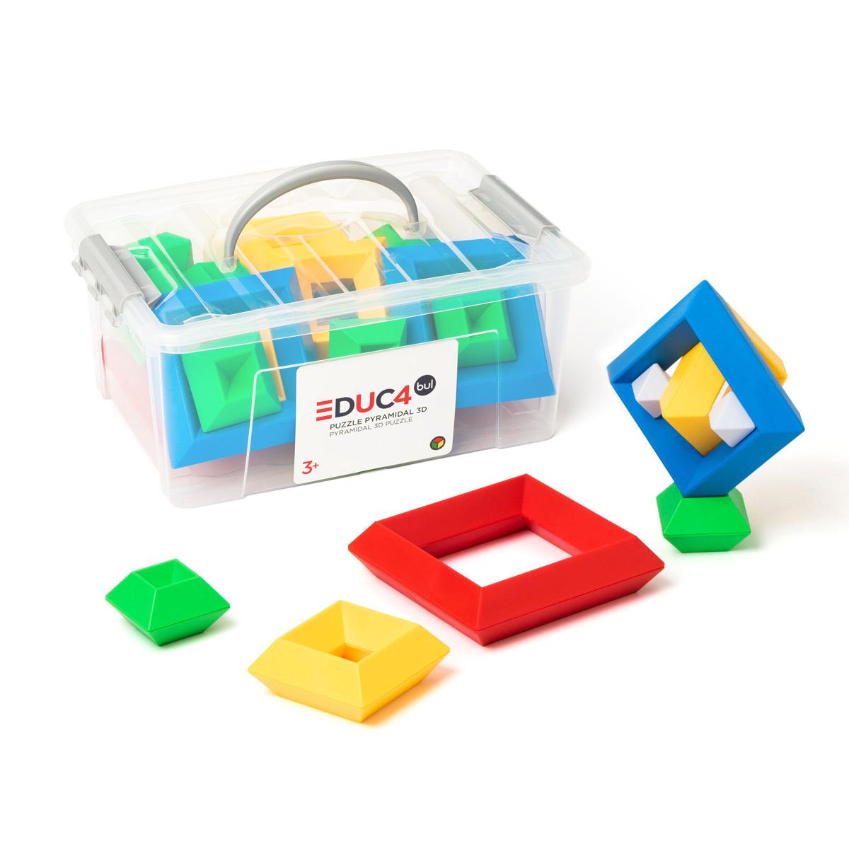 Puzzle Pyramidal 3D à Puzzle Gratuit Pour Fille De 3 Ans