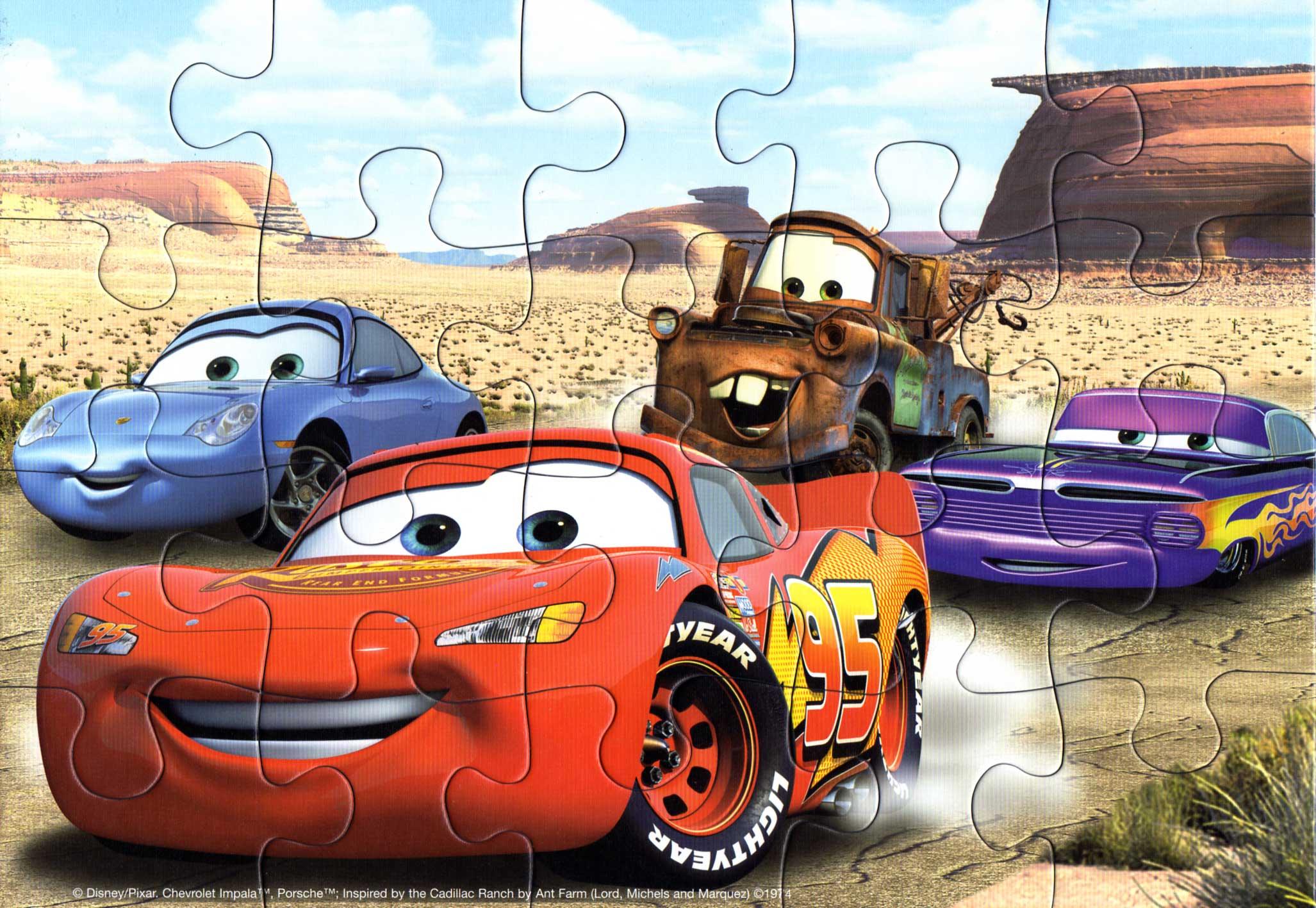 Puzzle Ravensburger De 2×20 Pièces (Cars – 2006) | Otakia destiné Puzzle Photo Gratuit