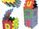 Puzzle Tapis Mousse 36 pcs Pour 2-3 Ans Bébé Jeu Education Alphabet Infantile pour Jeux Bebe 3 Ans