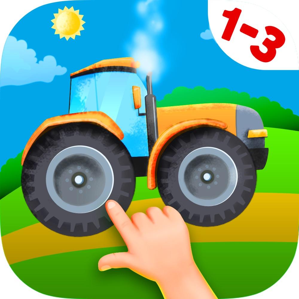 Puzzle Tracteur Et Camion Gratuit Pour Enfant De 3 Ans App destiné Puzzle Gratuit Pour Fille De 3 Ans