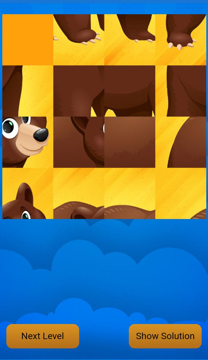 Puzzles Animal For Kids For Android - Apk Download intérieur Puzzle Gratuit Facile
