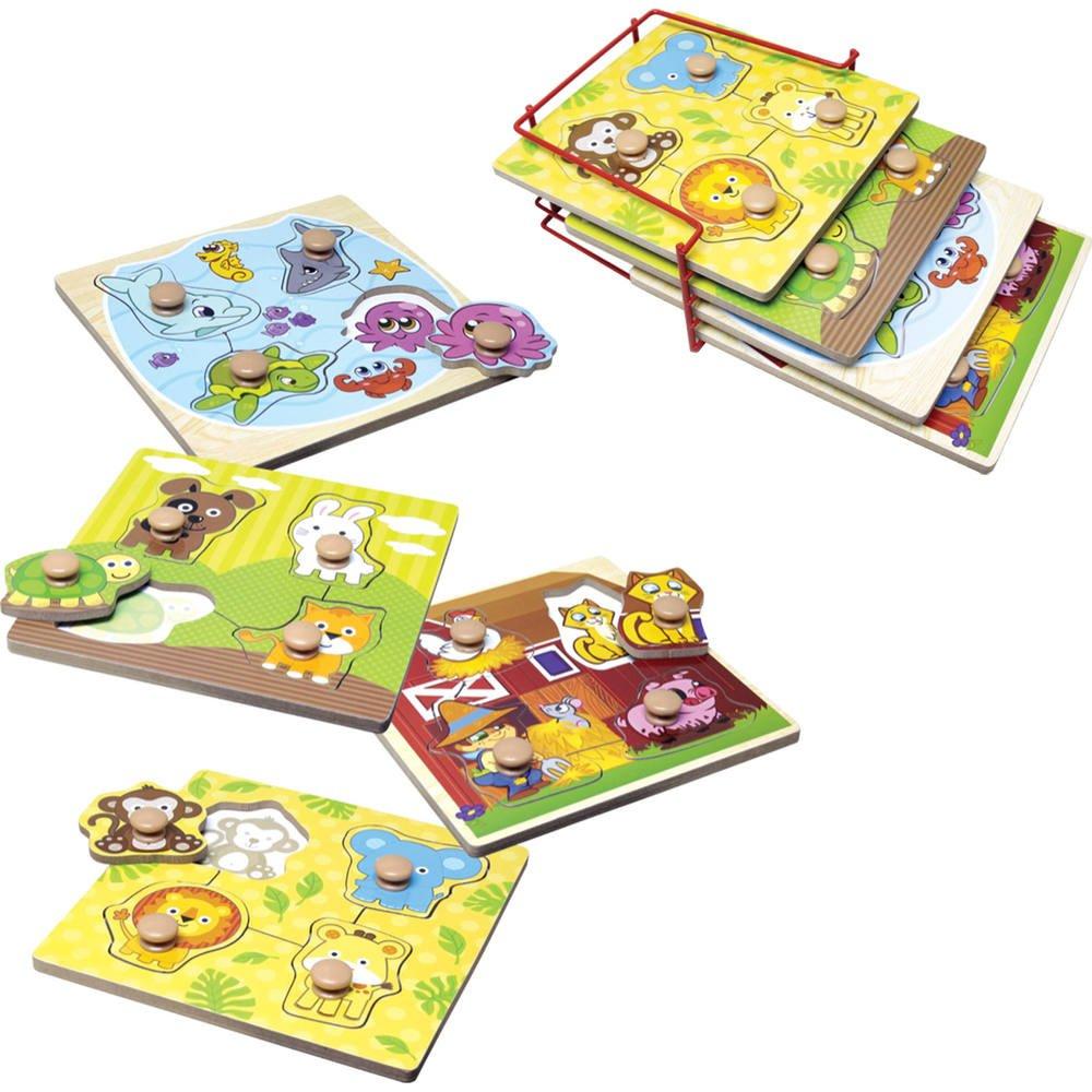 Puzzles De 4 Pieces Bebes Animaux concernant Jouer Puzzle Gratuit