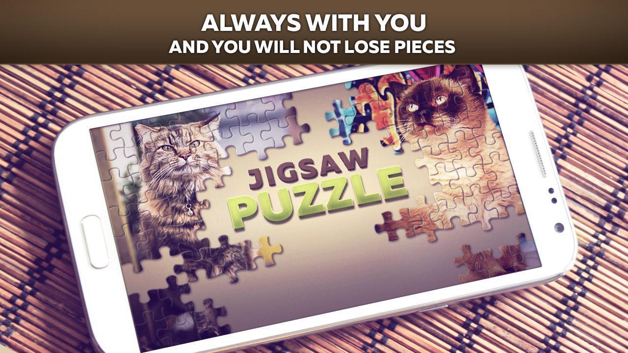 Puzzles De Chat Pour Android - Téléchargez L'apk pour Puzzle Gratuit A Telecharger Pour Tablette