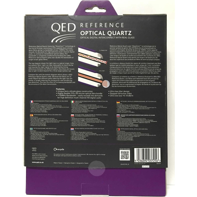 Qed Qe-3310 Reference Optıcal Quartz Kablo 1 Mt. Fiyatı intérieur Les 5 Differences