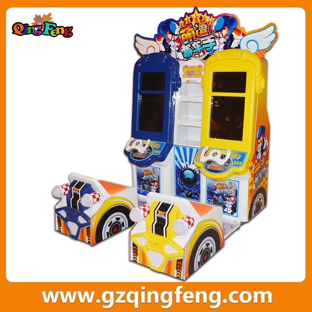 Qingfeng Foire De Canton Meilleure Vente Machine De Jeu D'arcade Mini  Machine D'arcade Jeux De Voiture Pour Enfants - Buy Jeux De Voiture Pour dedans Jeux De Mini Voiture