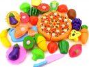 Qinlee 24Pcs Eu D'imitation Coupe Fruits Légumes Jeu Enfants dedans Jeux Enfant Maternelle