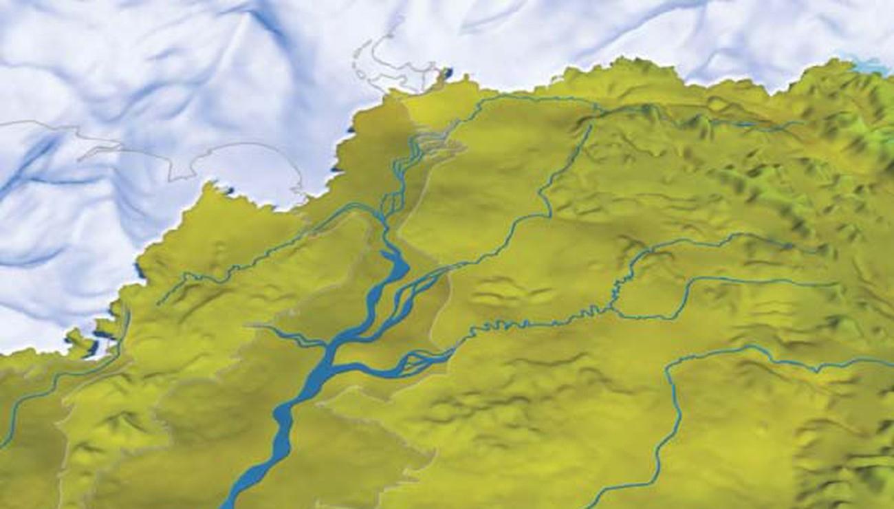 Quand La Manche Était Un Fleuve | Pour La Science pour Les Fleuves En France Cycle 3
