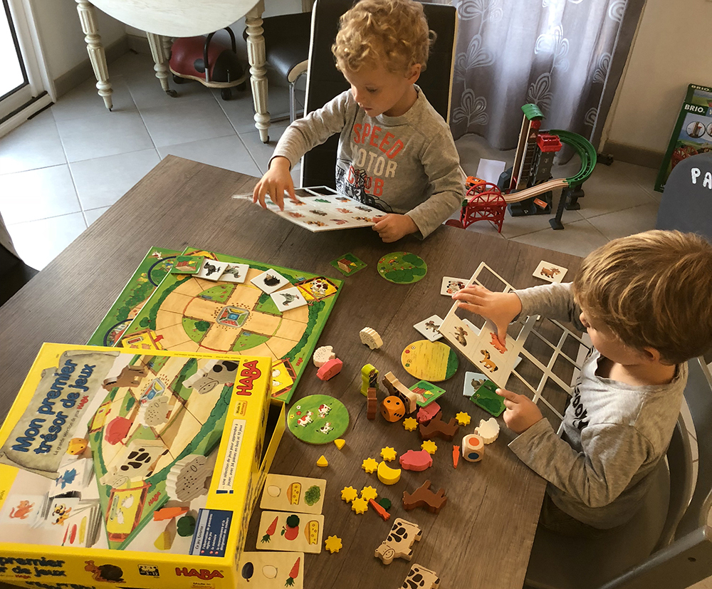 Quels Jeux De Sociétés Pour 3 Ans Et Plus ? avec Jeux Pour Un Enfant De 3 Ans