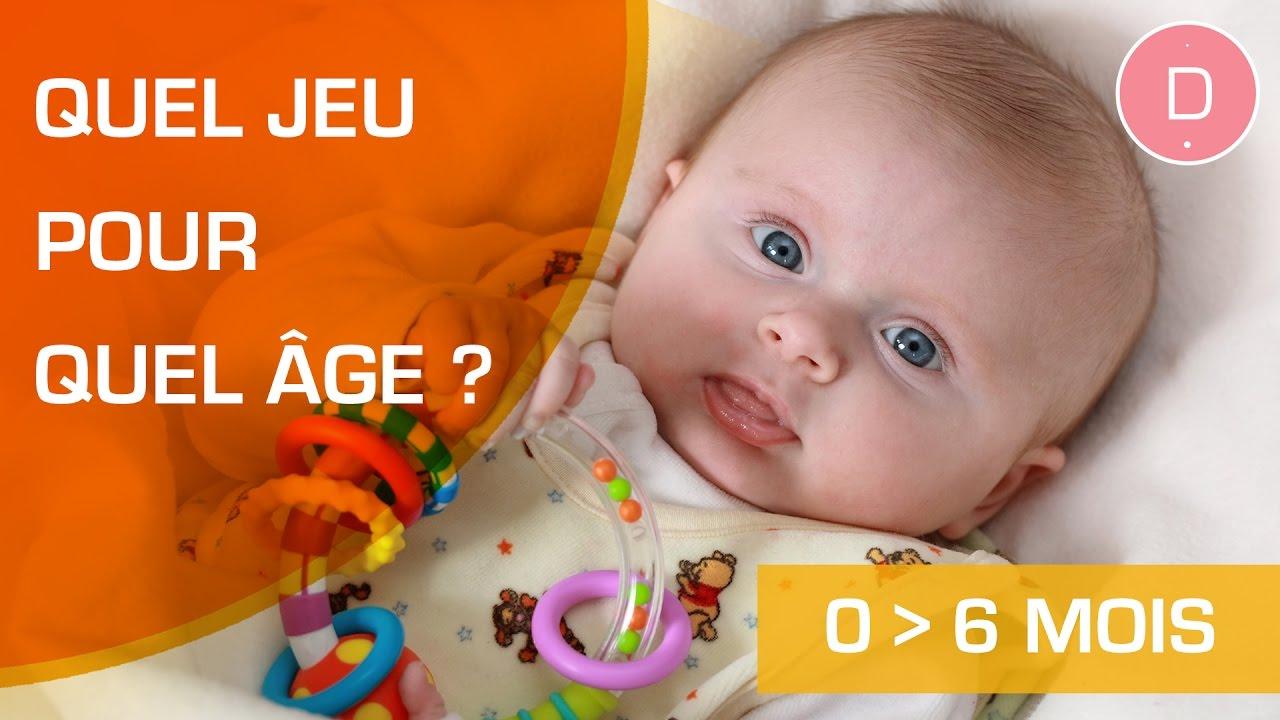 Quels Jeux Pour Un Bébé De 0 À 6 Mois ? intérieur Jeux Pour Les Bébé De 1 Ans