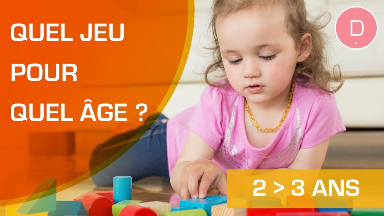 Quels Jeux Pour Un Enfant De 2 À 3 Ans ? - Quel Jeu Pour Quel Âge ? intérieur Jeu Educatif 3 Ans