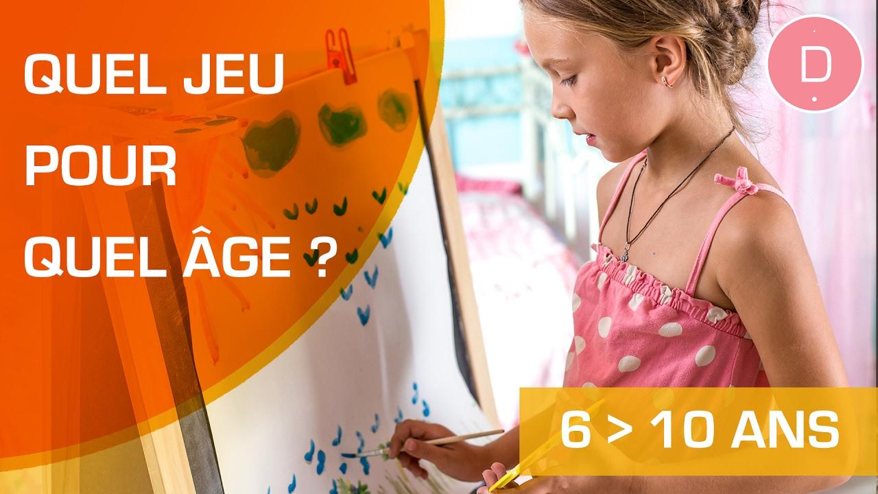 Quels Jeux Proposer Aux Enfants Entre 6 À 11 Ans ? - Quel Jeu Pour Quel Âge  ? avec Jeux De Fille 3 Ans Gratuit