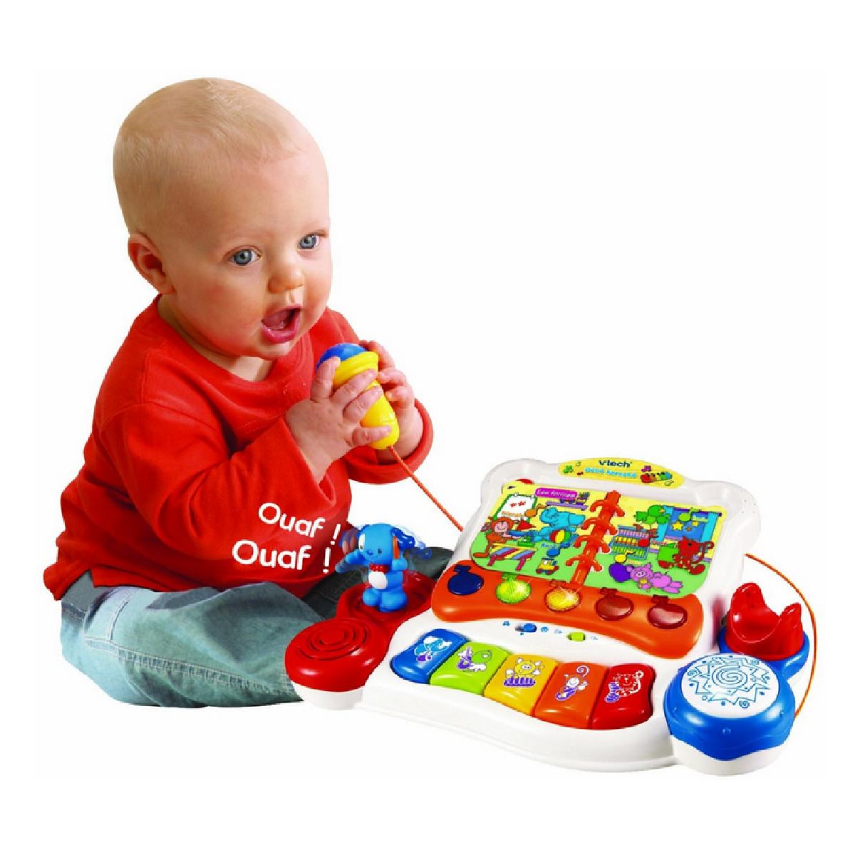 Quels Jouets D'activités Préférer Pour Le Bébé De 12 Mois encequiconcerne Jeux Pour Bebe Gratuit